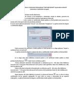 Manual Utilizare Semnatura Digitala