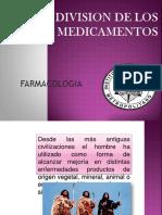 Division de Los Medicamentos