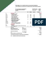 Presupuesto Adicional y Deductivo de cerco perimetrico