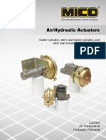 84460006Air Hydraulic Actuators
