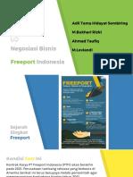 Negosiasi Bisnis (Studi Kasus Perpanjangan Kerjasama PT. Freeport Indonesia tahun 2017)