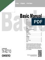 Manual TX-rz710 Bas En