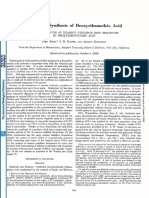 Enzymatic Synthesis of Deoxyribonucleic Acid
