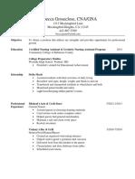 groseclose resume final