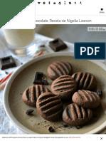Galletas Fáciles de Chocolate