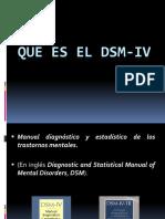 Que Es El Dsm-IV (4)