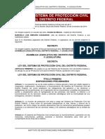 Ley Del Sistema de Protección Civil en El D.F. 28 Noviembre 2014(Imprimir)