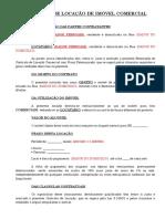 Contrato de Locação Comercial