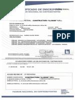 Certificado d Inscri. Nit