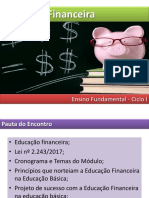 Educação Financeira - 1° Encontro