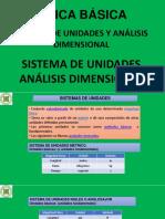 SEMANA 02 - Sistema de Unidades - Analisis Dimensional
