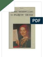 Kierkegaard Soren- O pojÄ™ciu ironii