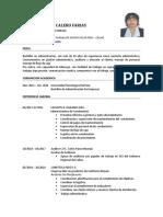 Maritza Calero Actual 2017- Convocatoria Primer Concurso Publico 2017