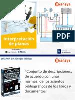 Semana 1 Interpretación de Planos y Manuales Técnicos