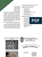 Mini Bomba Centrifuga Casera(DIPTICO)