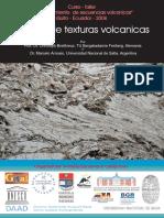Cartilla de Texturas Volcanicas