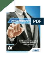 Manual Del Usuario Formulario SAT 0411 Aviso Legalización de Firmas en Agencia Virtual