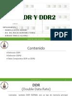 DDR Y DDR2