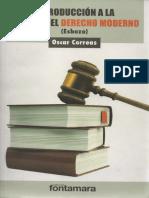 Introducción a La Crítica Del Derecho Moderno