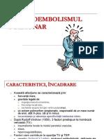 Curs 13 - Tromboembolismul pulmonar.ppt