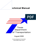 Geotechnical Manual Texas Department of Transportation 2006