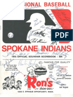 1970 Scorecard with Championship Program
