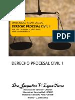 Derecho Procesal Civil - EL proceso