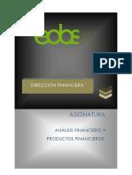 1.Analisis Financiero y Productos