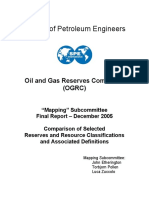 SPE Oil and Gas Reservees Mapping