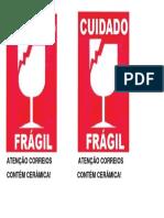 Fragil Vidro