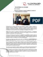 NP102-2017 | Contraloría y Transparencia impulsan el control ciudadano en obras de Reconstrucción con Cambios