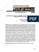 A Ditadura Civil-militar e Os Primeiros Aparatos Repressivos