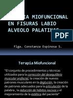 1. Motricidad Orofacial Y Terapia Mío-funcional en Fisura Palatina