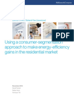 Using a Consumer-segmentation Approach to Make Energy-efficiency Gains in the Residential Market