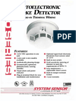 300 Series Photoelectric Smoke Detector System