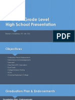 9 and 10 grade level presentation