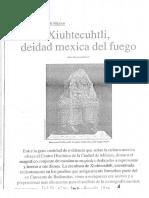 06071047 HERNANEZ PONS - Xiuhtecuhtli Deidad Mexica Del Fuego