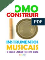 E-Book Instrumentos Musicais Confecção