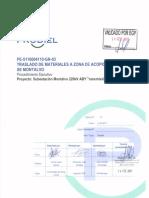 PE-5116004110-GN-03.01 Traslado de Materiales a Zona de Acopio en SE Montalvo