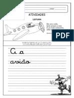 ATIVIDADES vogais