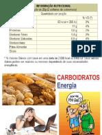 Slides Nutrição Nutrientes