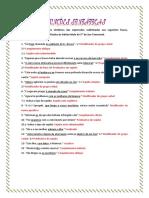 Funções Sintáticas 3 Correção