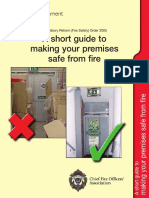 A short guide to making your premises safe from fire.pdf