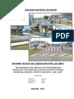 Informe Técnico de Liquidacion Vdr (1)