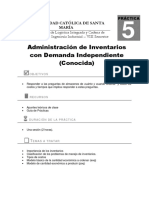 Práctica N°5_ADminsitración de Inventarios Demanda Independiente (1)