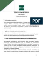 TEORIA DEL DERECHO Preguntas Frecuentes 20162017
