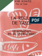 Schutz_ Roger - La Regla de Taize
