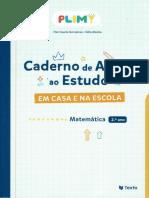 Caderno Apoio Ao Estudo - Fichas 2º Ano Matemática PLIM