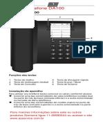 Manual Telefone _DA100