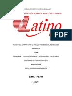 Fisiología y Fisiopatología de Las Hormonas Tiroideas y Tratamiento Farmacológico
